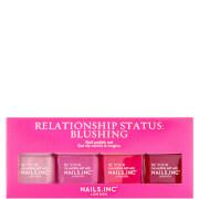 nails inc. Relationship Status Blushing Quad Set