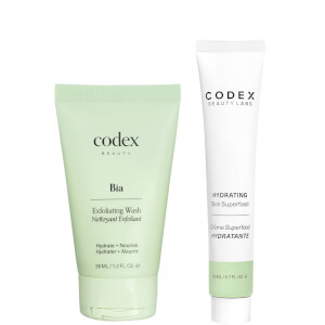 Codex Beauty Labs FREE GIFT deluxe Cleanse and Moisturise Duo