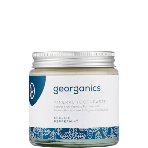 Georganics FREE GIFT - 120ml English Peppermint Mineral Toothpaste