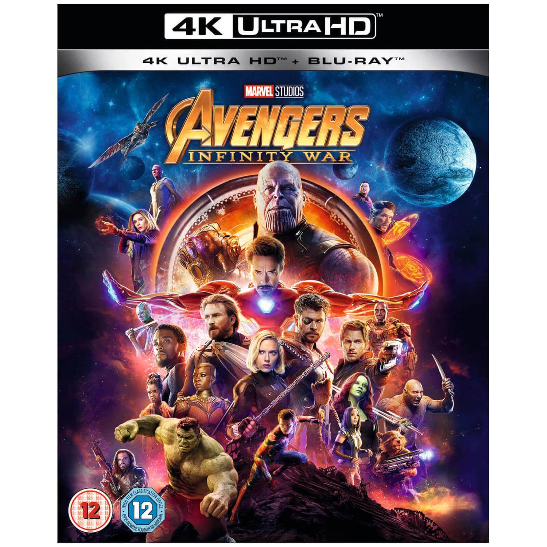 Avengers Infinity War 4k Ultra Hd Blu Ray Zavvi De
