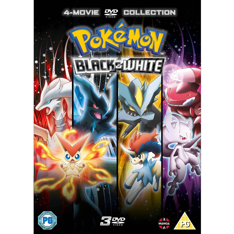 Pokémon Movie 14-16 Collection - Black & White DVD