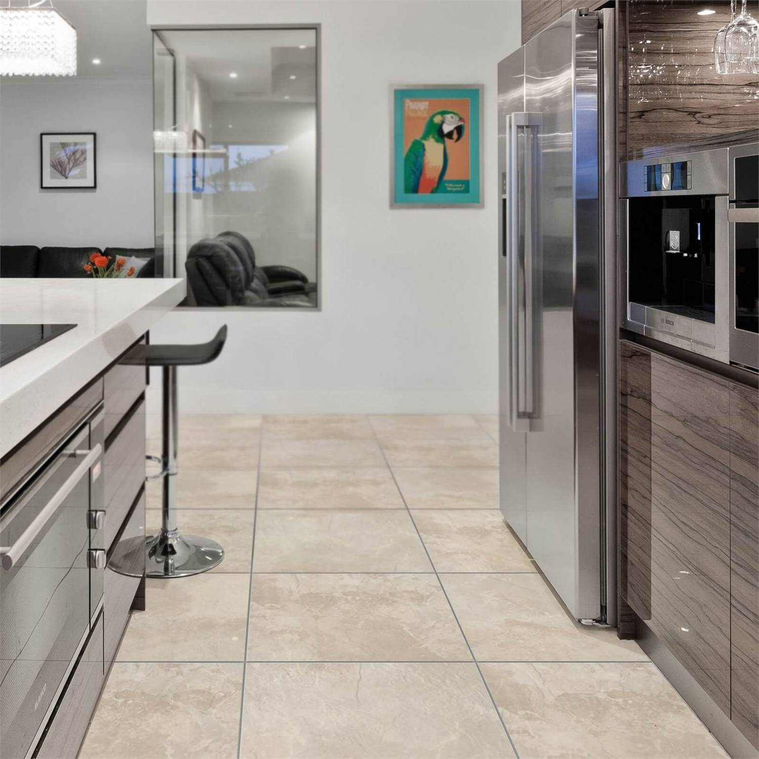Devonshire Oyster Floor & Wall Tile   9 x 9mm