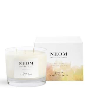 NEOM 幸福愉悅香氛蠟燭 三蕊 420g