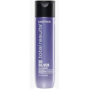 Matrix Total Results So Silver Purple Shampoo for Toning Blondes, Greys and Silvers 300ml
