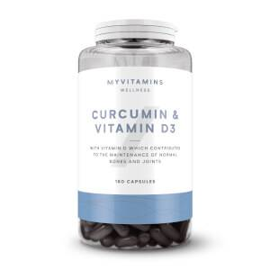 커큐민 & 비타민 D3 (구: 커큐민(강황,울금) & 비타민 D 캡슐)