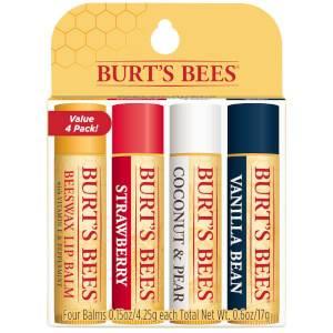 Best Of Burt's Lip Balm 4-Pack