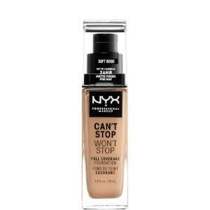 Fond de Teint 24Heures Can't Stop Won't Stop NYX Professional Makeup (différentes teintes disponibles)