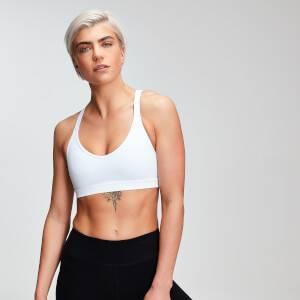 MP Women's Power Mesh Sports Bra - White