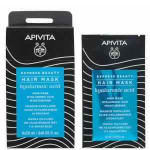 Увлажняющая маска с гиалуроновой кислотой APIVITA Express Moisturizing Hair Mask — Hyaluronic Acid 20 мл
