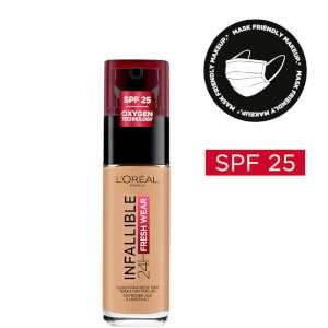 L'Oréal Paris Infallible 24hr Freshwear Liquid Foundation - 250 Radiant Sand