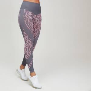 MP Animal Zebra Seamless Women's Leggings - Candy/Slate