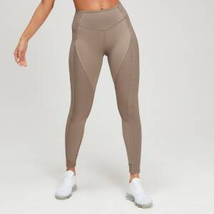 MP Women's Textured Training Leggings - Praline