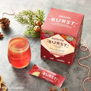 Limited Edition Mulled Wine Flavour BURST Box of 30