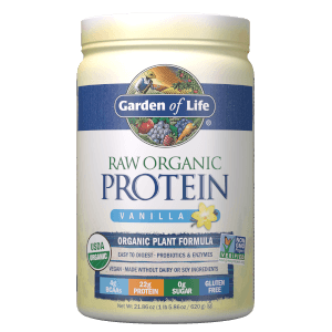 Протеиновый порошок RAW Organic Protein - Ваниль - 620г