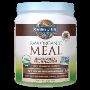 Универсальный протеиновый коктейль Raw Organic All-In-One - Шоколад - 509 г