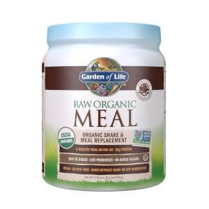 Raw Organic All-In-One Shake - Chocolate - 509g