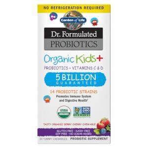 Microbiome Kinderen + - bes/kers - 30 kauwtabletten