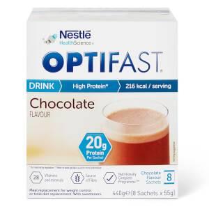 OPTIFAST Shakes - Chocolate - Box of 8