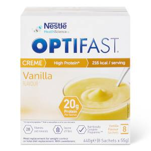 OPTIFAST Dessert - Vanilla - Box of 8