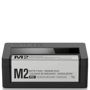 Patricks M2 Matte Finish Medium Hold Styling Product 75g