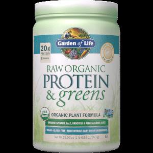 Raw Organic Protein and Greens 有機純天然蛋白-綠色蔬果配方 - 微甜 - 651g