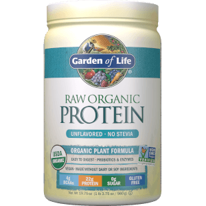 Raw Organic Protein - Unflavoured - 560g