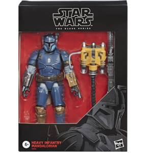 Hasbro Star Wars The Mandalorian The Black Series Heavy Infantry 6 Inch Action Figure