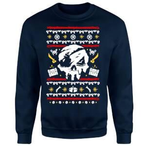 Sea of Thieves Christmas Sweatshirt - Navy
