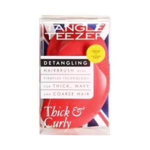 Tangle Teezer Thick & Curly Detangling Hairbrush - Salsa Red