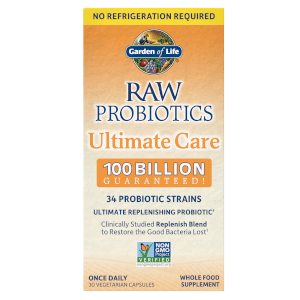 Raw Microbiome Ultimate Care Shelf - 30 Capsules