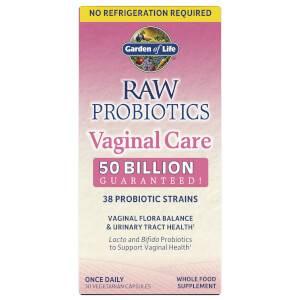 RAW Пробиотики для нормализации вагинальной микрофлоры - 30 капсул