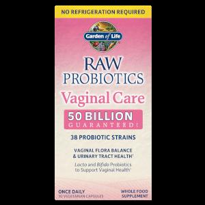 Средство для нормализации вагинальной микрофлоры Raw Microbiome Vaginal Care - 30 капсул