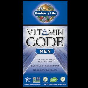 Vitamin Code Men男性綜合維他命-120粒膠囊