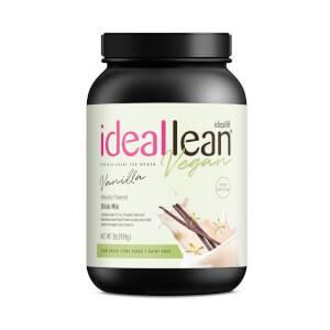 IdealLean Vegan Protein - Vanilla - 30 Servings