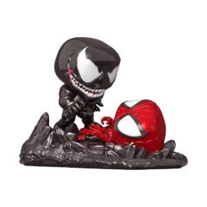 PX Previews EXC Marvel Spider-Man vs Venom Funko Pop! Comic Moment