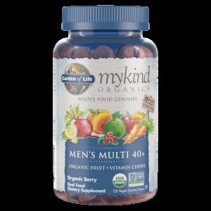 mykind Organics Men's 40+ Multi - Berry - 120 Gummies