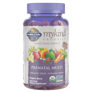mykind Organics Prenatal Multi - Frutos del bosque - 120 gominolas