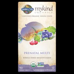 mykind Organics Prenatal Multi - 90 comprimidos