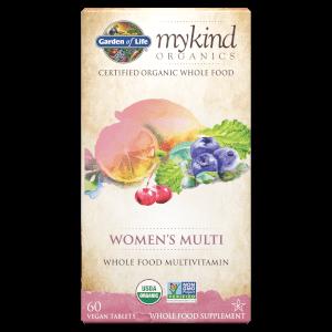 mykind Organics Women's Multi 有機女性綜合維他命 - 60 錠