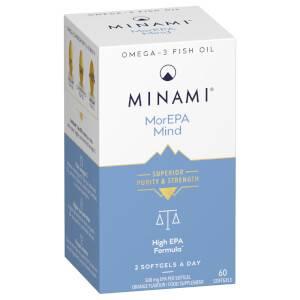 Minami MorEPA ОМЕГА-3 для работы мозга - 60 капсул