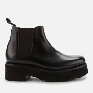 Grenson Women's Naomi Leather Chelsea Boots - Black