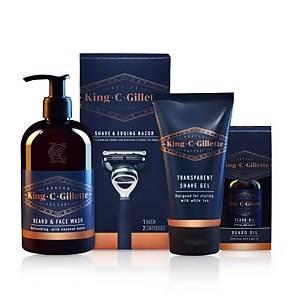 Gillette King C. Gillette Beard Styling Kit