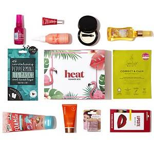 GLOSSYBOX Heat Summer Box Limited Edition