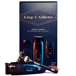 King C. Gillette Beard Trimmer and Shaving and Edging Razor