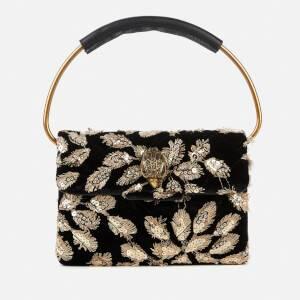 Kurt Geiger London Women's Mini Ring Kensington Bag - Black/Beige