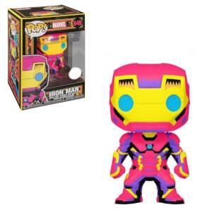 Marvel Black Light Iron Man Funko EXC Pop! Vinyl
