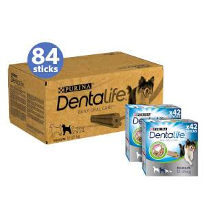 DENTALIFE Medium Dog Treat Dental Chew 84 Stick