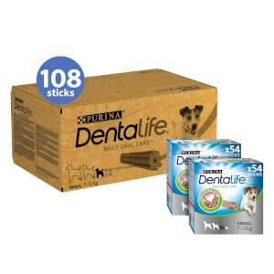DENTALIFE Small Dog Treat Dental Chew 108 Stick