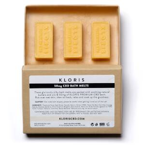 KLORIS 50mg CBD Bath Melt (3 Pack)