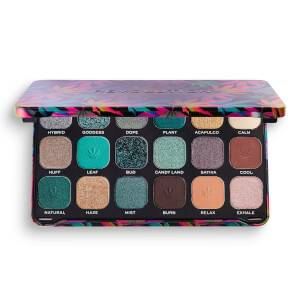 Makeup Revolution Forever Flawless Eye Shadow Palette - Chilled with Cannabis Sativa